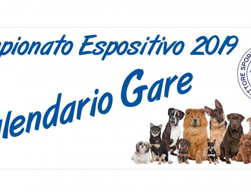 Calendario – EXPO' ACSI Cinofilia 2019