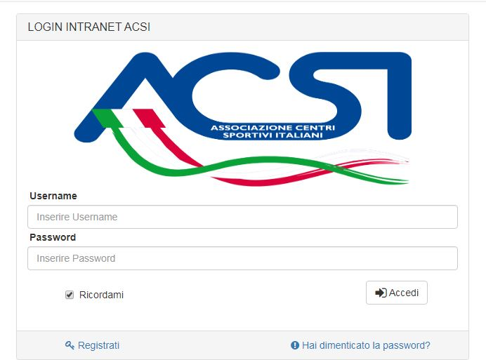Accedi all'area Affiliati